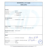 CMC BXE-IP65 Testreport  2011-08-01 sintesi